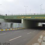 افتتاح نفق المختار في تقاطع حي ميسان في النجف الأشرف