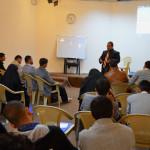 انطلاق الدورة الصحفية الأولى لـ(الإعلام الهادف) للشباب النجفي في مؤسسة الحكمة للثقافة الإسلامية
