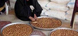 إعداد (الكليجة) يتصدر استعدادات العوائل النجفية لاستقبال عيد الفطر المبارك