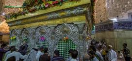 زهور القطف صناعة طبيعية يعتمدها مهندسو العتبة الحسينية لتزيين الحرم الحسيني الشريف