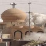 عصابة داعش تفجر حسينية جلولاء وتقتل مؤذنها