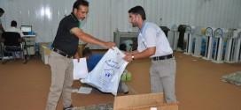 الكوادر المختصة في قسم الصندوق التابع لمؤسسة اليتيم الخيرية تكثف جهودها خلال الاسبوع الماضي