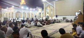 في ذكرى استشهاد الإمام الصادق (عليه السلام) مجلس للعزاء في مسجد الكوفة المعظم