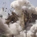 مجرمو داعش يفجرون مقام الإمام الرضا (ع) في سهل نينوى