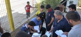 غرفة عمليات تسجيل معلومات المهجرين بمؤسسة اليتيم الخيرية تواصل عملها في الليل والنهار وأيام العطل الرسمية