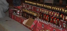 شرطة النجف الأشرف تقبض على سيارة تحمل أكثر من 200 قنينة من المشروبات الكحولية