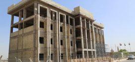 إنجاز 60% من مشروع بناية الموظفين في مطار النجف الأشرف الدولي