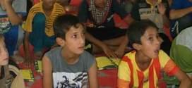 مركز الأمير (ع) الثقافي في النجف الأشرف يقيم دورات تثقيفية لأطفال العوائل النازحة