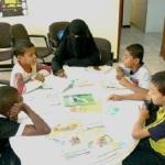 وفد حماية الأسرة والطفل في ضيافة البيت الثقافي لمناقشة مشاكل العائلة النجفية