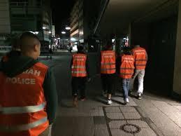 نهي عن المنكر ليلًا في شوارع مدينة ألمانيَّة