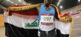 العداء العراقي عدنان طعيس يحرز ذهبية سباق 800م في دورة الألعاب الآسيوية