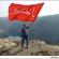 """بالصور / راية الحسين (ع) ترفرف على صخرة """"لسان القزم"""" في النروج"""