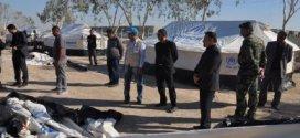 رئيس لجنة حقوق الإنسان يعلن المباشرة بتوزيع ونصب 1800 خيمة على أصحاب المواكب الحسينية لإسكان النازحين فيها