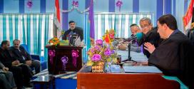 """نائب أمين عام العتبة الحسينية ينال الماجستير في """"تعزيز السلوك الإيجابي للعاملين بالعتبة لتحسين أدائهم الوظيفي"""""""