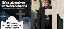حفار قبور ينشر كتابًا عن أسرار مهنته في فرنسا