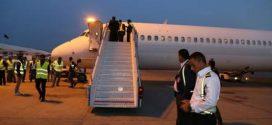 مطار النجف الأشرف الدولي يشهد هبوط طيران سوري في بعد انقطاع دام ثلاثة سنوات