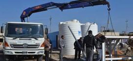 """إنجازُ مشروعِ تصنيعِ منظومةِ تنقيةِ المياهِ """"R.O"""" شرقَ كربلاءَ منْ قبلِ العتبةِ الحسينيّةِ المقدّسةِ"""