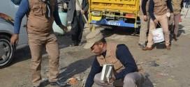 حملة طوعية خدمية لشرطة النجف الأشرف في الأحياء الشمالية بالتعاون مع مواطن