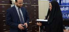 مؤسسة اليتيم الخيرية تستقبل ممثل شعبة الاتجار بالبشر والأعضاء البشرية في شرطة النجف الأشرف