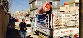 فرع مؤسسة اليتيم الخيرية في كربلاء يوزع مساعدات للأيتام