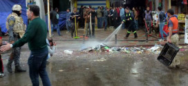 30 قتيلاً وجريحاً بانفجار سيارتين مفخختين بسوق بلدروز شرق بعقوبة
