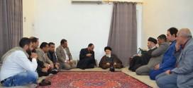 المرجع الديني الكبير السيد الحكيم (مد ظله) يستقبل وفد منظمة الحياة الخيرية ويدعو لنشر ثقافة الاقتصاد وعدم التبذير في المجتمع